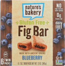 Blueberry Fig Bar product image.