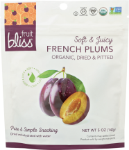 Soft & Juicy Organic Plums product image.