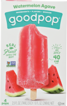 Goodpop Watermelon Agave 4-Pack product image.