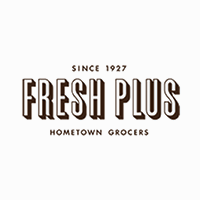 Fresh Plus (TX) logo.
