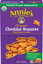 Organic Bunny Crackers (selected varieties) product image.