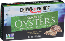 Smoked Oysters  product image.