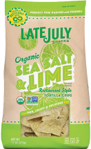Organic Restaurant Style Tortilla Chips product image.