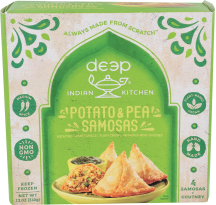 Vegetarian Appetizers and Naan Pizza product image.