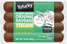 Plant-based Sausages product image.