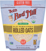 Organic Gluten Free Rolled Oats product image.