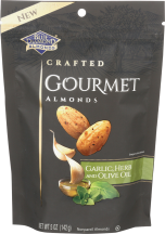 Crafted Gourmet Almonds product image.