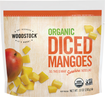 Organic Frozen Mangoes product image.