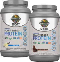 Organic Plant-based Protein product image.