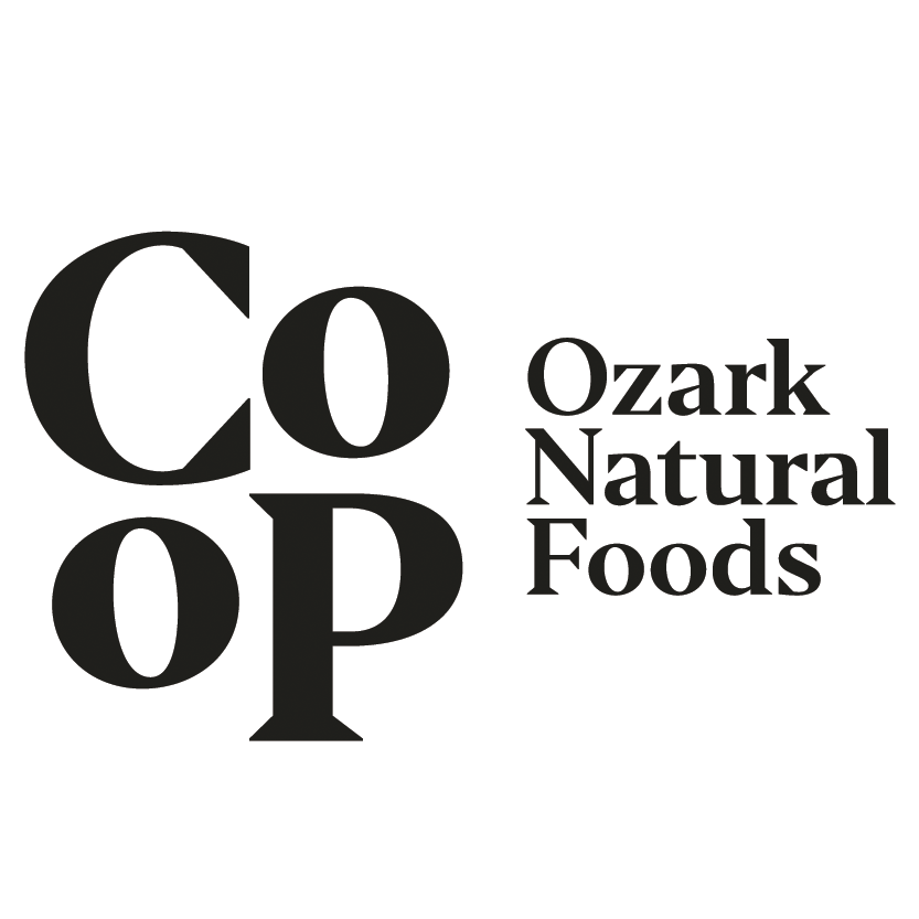 Co-Op Ozark Natural Foods logo.