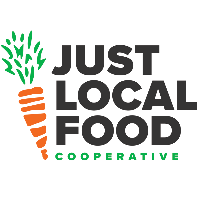Just Local Food Cooperative logo.