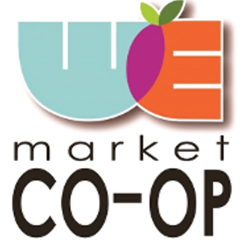 WE Market Co-op logo.