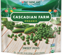 Organic Frozen Sweet Peas product image.