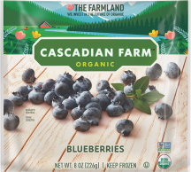 Organic Frozen Blueberries product image.