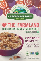 Organic Granola Cereal product image.