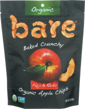 100% Organic Apple Chips product image.