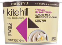 Almond Milk Greek Style Yogurt product image.